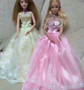 Кукла Барби поющая в розовом