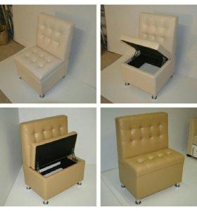 Новые диванчики-пуфики