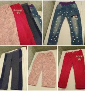 Брючки и джинсы на девочку