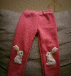 Утепленные штанишки-ретузы