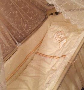 Кроватка papoloni винни