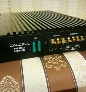Автомобильный усилитель CALCELL POP150.2 300