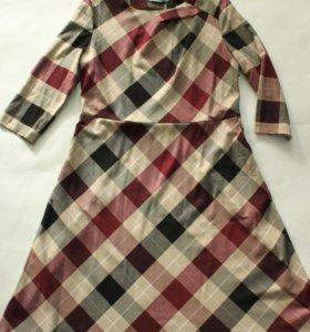 Новое расклешенное платье р 52