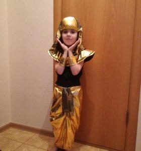 Новогодний костюм на девочку Клеопатра