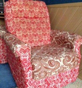 Кресло мягкое и удобное для дачи