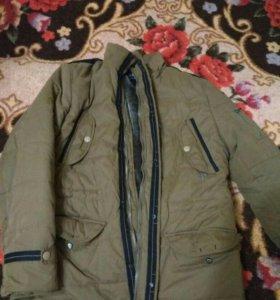 Куртка подросткрвая