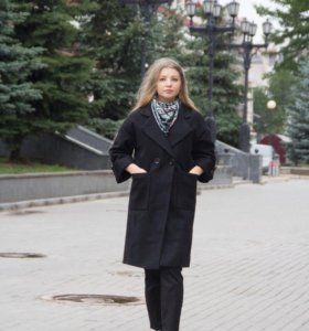 Шикарное тёплое пальто