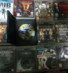 Распродажа дисков на PlayStation 3 около 60 дисков