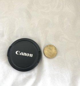 Крышка объектива Canon Е-52 мм на защелках