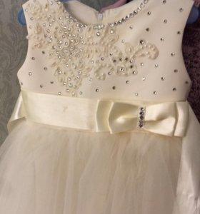 Платье для девочки 110-116 рост