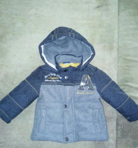 Куртка-пальто р. 74