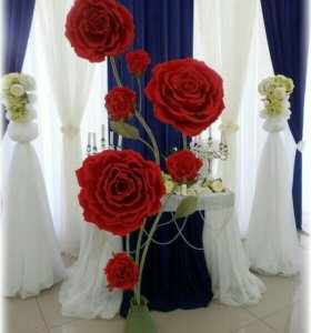 Интерьерные цветы. Оформление фотозон