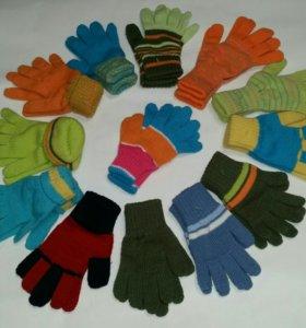 Новые перчатки детские