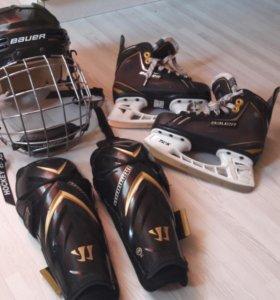 для хоккея коньки 33рbauer 2000т.р шлем 3000т.р