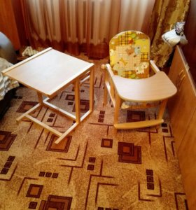 Столик-трансформер для кормления и занятий