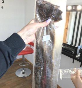 Волосы накладные тон 12 новые! Искусственные