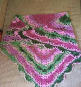 Небольшая шаль, шейный платок, бактус.