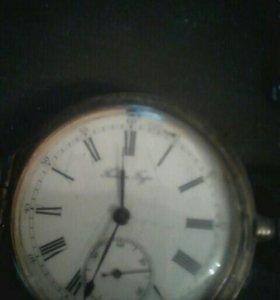 Карманные часы Павел Буре серебро