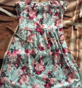 Шифоновое платье ostin