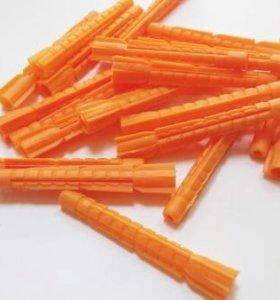 Дюбель 6*52 распорный оранжевый
