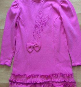 Платье трикотаж 116-128