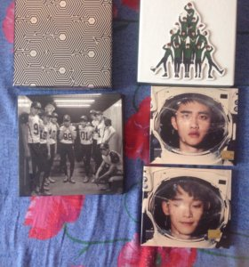 Альбомы группы EXO !Срочно!
