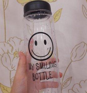 """Новая бутылка """"MY SMILING BOTTLE"""""""