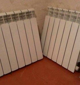 Батареи алюминиевые