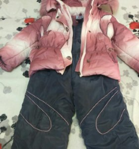 Комбинезон и куртка 122 см