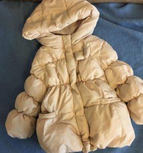 Куртка zara 12-18m