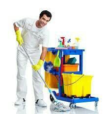 Услуги чистильщиков уборщиков помещений