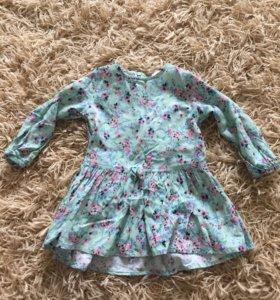 Платье котон