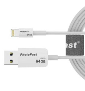 Флешка 64GB для Aplle Iphone PhotoBackup Cable 1m