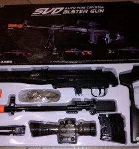 Игрушечная винтовка снайперская свд 63 электро