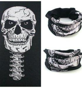 Маска череп шарф