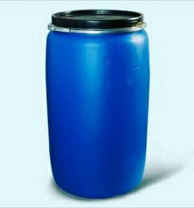 Бочки 200 литров промытые крышка-кольцо б у