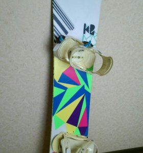 Сноуборд женский комплект К2