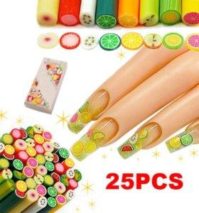 Фимо фигурки для дизайна ногтей