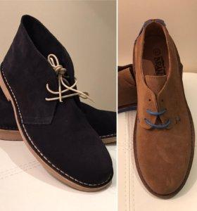 Ботинки мужские новые (ручная работа, Испания)