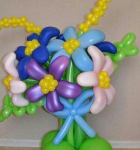 Воздушные шары,букетики