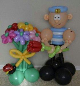 Воздушные шары.подарки для взрослых