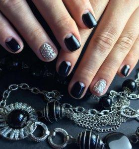 Моделирование ногтей,шеллак,ламинирование ногтей
