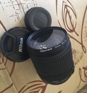 Объектив nikkor 18-105 mm