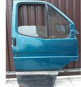 Дверь со стеклоподъемником Форд Транзит 1998 г.в.