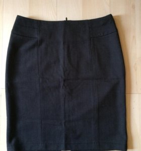 Школьная юбка (серая)