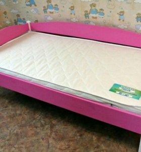 Кровать из массива сосны 80*160