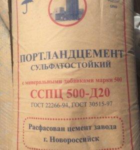 Цемент М - 500 /д-20 / 25 кг.