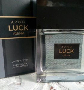 AVON LUCK for him