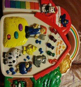 Детская музыкальная игрушка.