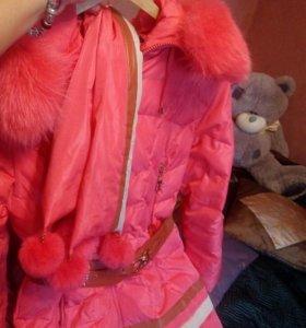 Б/у. Куртка зимняя пуховик